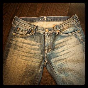 NWOT, 7 FAM, Boot Cut, Jeans - Size 29